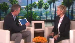 iPad Magier bei Ellen
