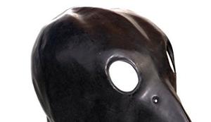 Krähe Latex Maske