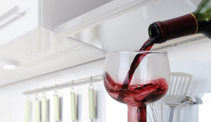 Ungewöhnliches Riesen-Weinglas