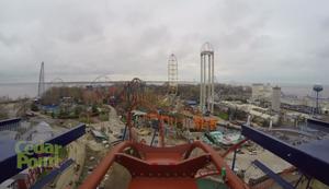 Valravn Achterbahn im Freizeitpark Cedar Point