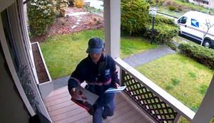 Hund mag keine Briefträger