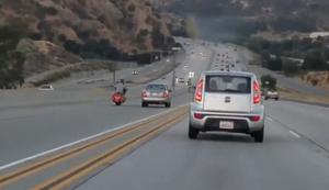 Eskalation auf dem Highway