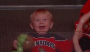 Kleiner Hockey-Fan
