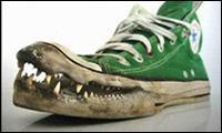 Verr�ckte Schuhe