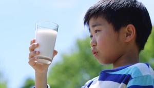 Japanischer Milchwerbespot