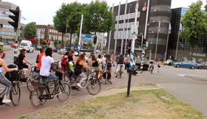 Fahrradverkehr sortieren