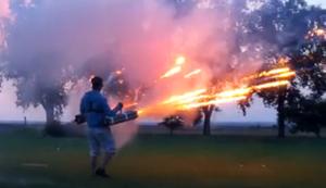 Feuerwerks-Kanone