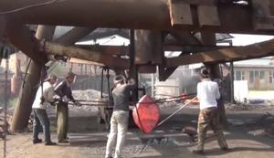 Stahlschmiede in China