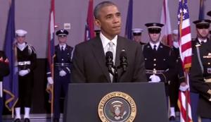 Sprachlose Rede von Barack Obama