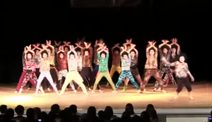 Highschool Street Dance Championship in Japan