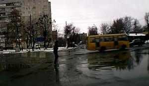 Die Straße überqueren
