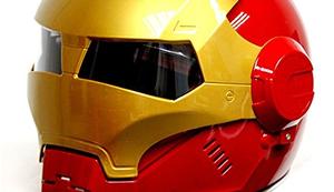Iron Man Motorradhelm