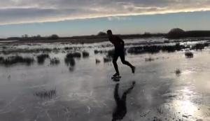 Vom Eis ins Wasser