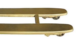 Bronze-Hubwagen
