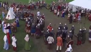 Drohne im Mittelalter