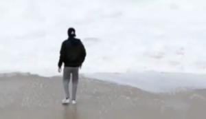 Verlust am Strand