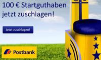 Tipp! 100 Euro geschenkt von der Postbank