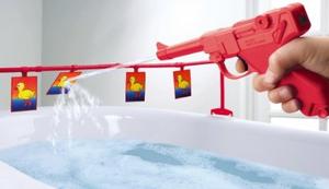 Entenjagd im Badezimmer