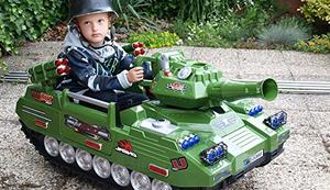 Ein Panzer für die Kleinen