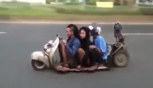 Indonesischer Lowrider