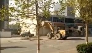 Streit unter Bauarbeitern