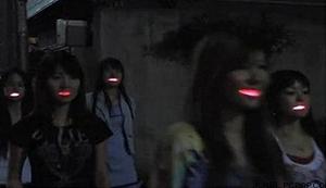 LED Leucht Gebiss