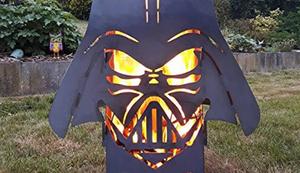 Darth Vader Feuersäule