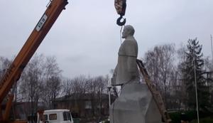 Lenin vom Sockel holen