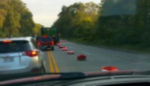 Fahrspur zu schmal