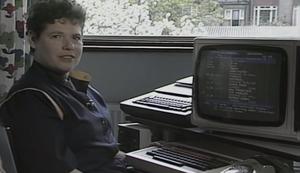 Wie man 1984 eine E-Mail verschickt hat