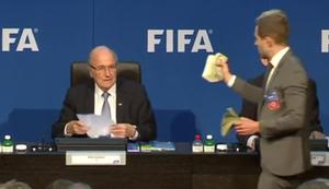 Scheine f�r Sepp Blatter