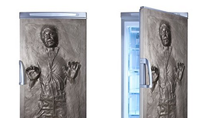 Kühlschrank Aufkleber mit Han Solo