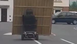 Holzzaun transportieren