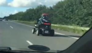 Elektrofahrzeug w�hrend der Fahrt laden