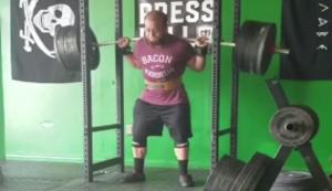Problem beim Gewichtheben
