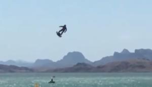 Fliegen mit dem Flyboard air
