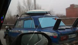 Ufo auf Russlands Straßen