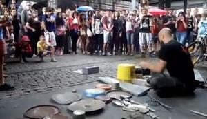 Cooler Street Drummer