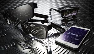 Bluetooth-LED-Gläser