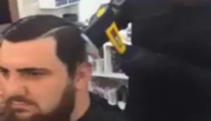 Wenn der Holzf�ller zum Friseur wechselt