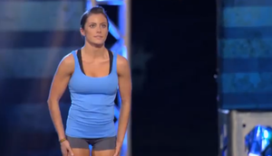 Powerfrau bei American Ninja Warrior