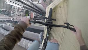 Mit dem BMX-Rad nach ganz oben