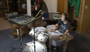 Drum Session aufnehmen