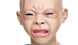 Schreiende Babymaske