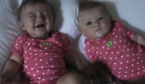 Zwillinge haben Spa�