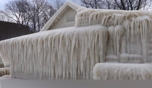 Das Eishaus vom Ontariosee