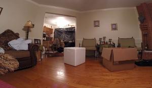 Trockeneisbombe im Wohnzimmer