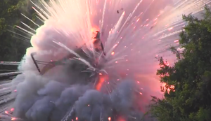 Fehlstart beim Thai Rocket Festival
