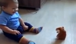 Sprechender Spielzeug-Hamster