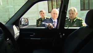 Putins neue Milit�rfahrzeuge